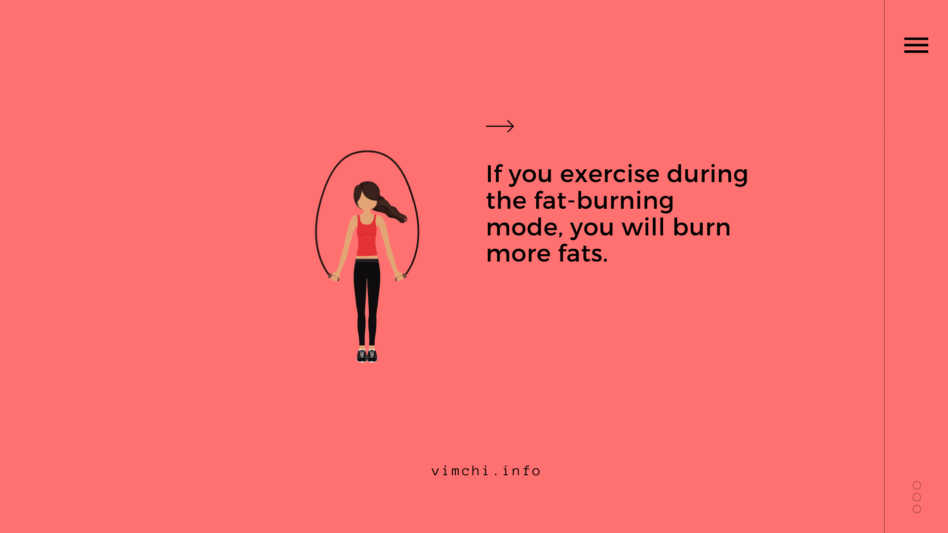 exercise burn more fats