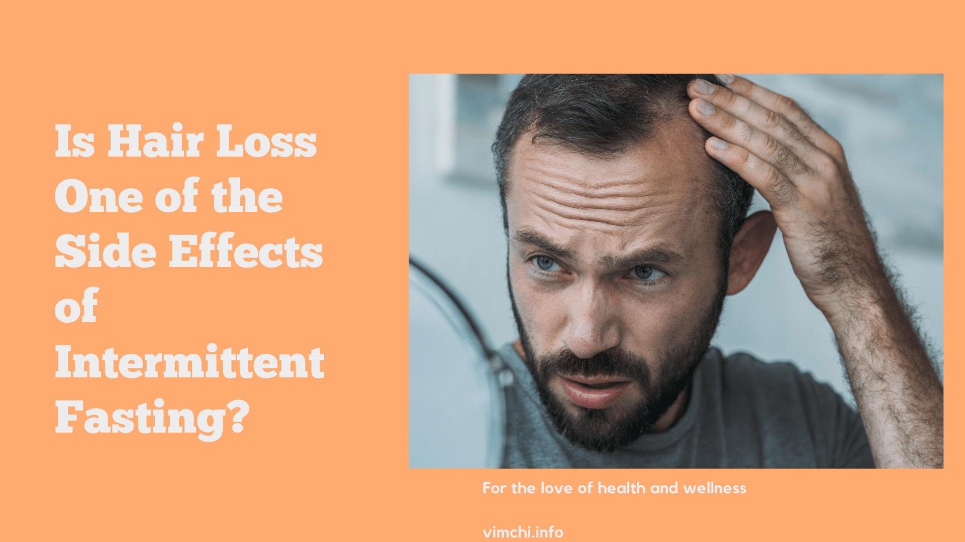 is hair loss one of the side effects of intermittent fasting