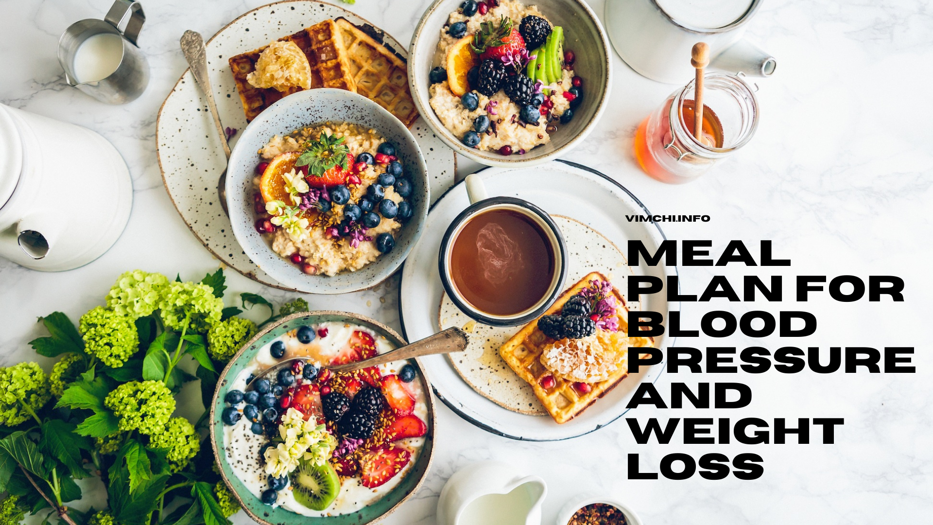 Meal Plan for Blood Pressure and Weight Loss -- block