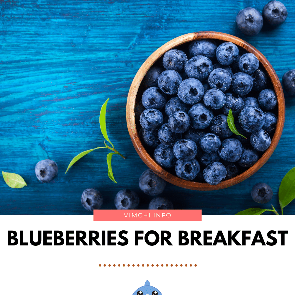 meal plan for blood pressure and weight loss -- blueberries