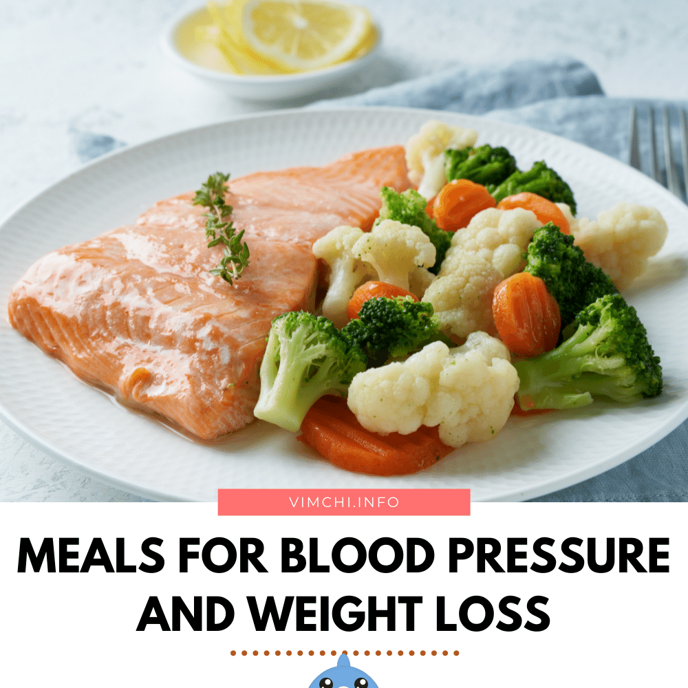 meal plan for blood pressure and weight loss