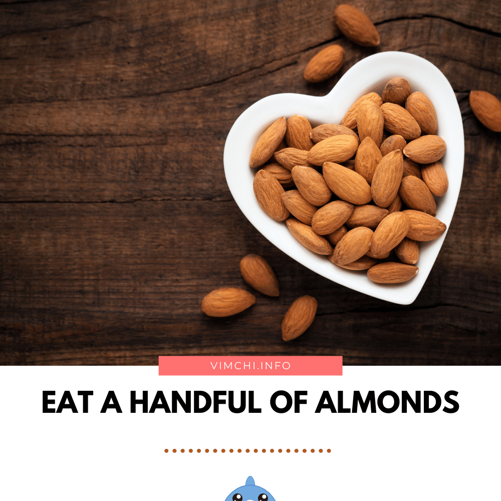 weight loss a 48-hour fast -- almonds
